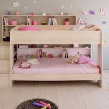 kids beds with storage. Exellent With Parisot Bibop Kids Acacia Bunk Bed In With Reversible Panels To Beds With Storage L
