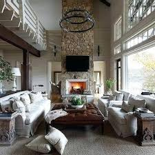 chandelier for 2 story family room two country living room with 2 tier iron candelabra chandelier