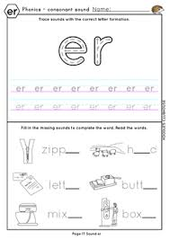 Free interactive exercises to practice online or download as pdf to print. Phonics Ear Air Ure Er Worksheets By Koodlesch Tpt