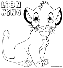 Small Picture Lofty Design Lion King Coloring Pages Online Archives Cecilymae