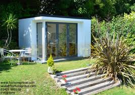 office garden pod. Exellent Garden Contemporary Cube Garden Office Pod Larger Image And