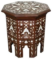 moroccan side table white mother of pearl inlay side table side tables and end tables by moroccan side table