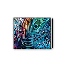 office artwork canvas. Unique Artwork Custom Beautiful Modern Art Abstract Painting Peacock Feather Canvas Print  20u0026quot X 16u0026quot Inch Intended Office Artwork L