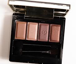 cle de peau baby universe 303 eyeshadow quad review photos swatches