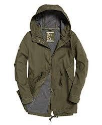 Superdry Jacket Size Chart Amazon Com Superdry Rookie Bonded Parka Jacket Clothing