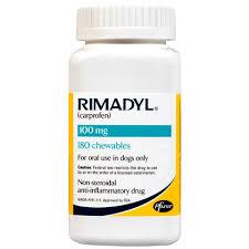 Rimadyl 100 Mg Chewables 180 Ct