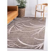 5 x 8 outdoor botanical rug