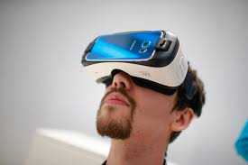 samsung virtual reality headset. expect vr to play a major role at ces 2016. samsung virtual reality headset 0
