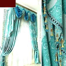 aqua blue shower curtain remarkable teal colored curtains