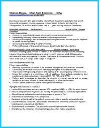 Bank Internal Auditor Resume Examples Internationallawjournaloflondon