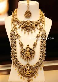 Temple Jewellery Gold Necklace Designs Temple Jewellery Designs By Joyalukkas Indian Jewellery