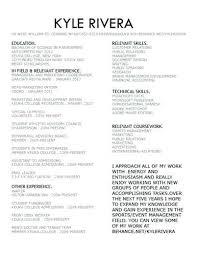 Nice Design Sports Management Resume Sports Management Resume Sports