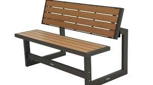 costco patio bench lifetime bench fundamentals lifetime outdoor furniture brown plastic steel convertible bench mocha patio costco patio bench