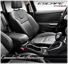 2016 ford escape black. 2013 2016 ford escape titanium katzkin leather seats black