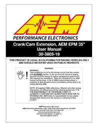 infinity core accessory wiring harness aem epm 35 leads for front infinity core accessory wiring harness aem epm 35 leads for front mounted distributor 30380519 user manual
