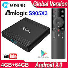 X96 Air Android TV Box Android 9,0 Amlogic S905X3 Smart TV Box 4K Android  Box 4GB 64GB x96Air Quad Core 2,4G & 5G Wifi BT 4,1 H.265|Digitalempfänger