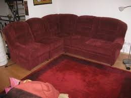 bild rolf benz 240. Hohe Lehne Bordeaux Eck Sofa Couch Stoff 240 X 220 165 4 Teile In Bild Rolf Benz O