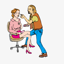 male makeup artist vector seat make up png and vector