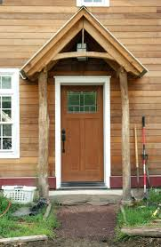 Front Door Portico Ideas Metal Shed Roof Designed Built Porch ...