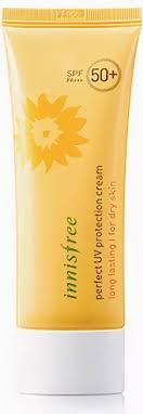 Innisfree водостойкий <b>солнцезащитный крем</b> для сухой кожи ...