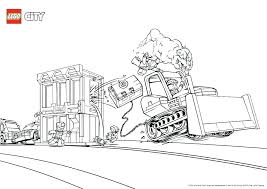 Lego Police Station Colouring Pages Coloring City Coloring Pages