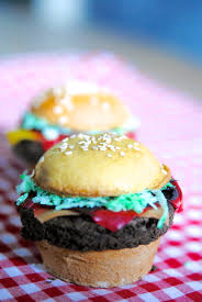 How To Have A Bake Sale Hamburger Cupcakes Fun Food Hack For Tailgating Or Bake Sales