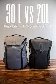 Peak Design Vs Peak Design Everyday Backpack 30l Vs 20l A Review And