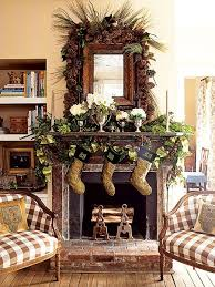 Rustic Mantel Christmas Fireplaces Decoration Ideas Rustic Christmas  fireplace mantel decoration for 2013