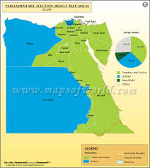 Map Of Egypt Election Results Previous Election Results Of