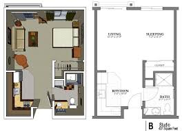 small studio furniture. the studio apartment floor plans above is used allow decoration of your to be more small furniture