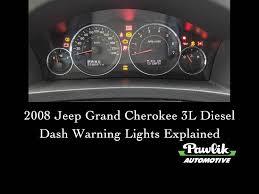 2004 Jeep Grand Cherokee Airbag Light Stays On 2008 Jeep Grand Cherokee 3 Litre Diesel Dash Warning Lights