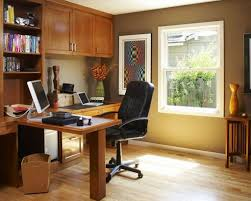decorate a home office. tiny space using cozy decorating home office design with teak desk and tidy bookshelves decorate a d