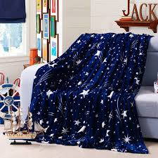 star bed sheets awesome 2017 brand winter warm flannel blanket blue stars single inside 18
