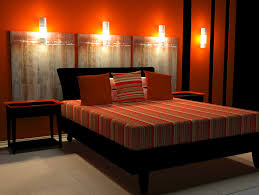 In A Richly Hued Room Like This One, You Can Actually Get A U201ccoolingu201d  Effect From Black. The Deep Red Walls In This Bedroom Are Extremely  Spicyu2014something ...