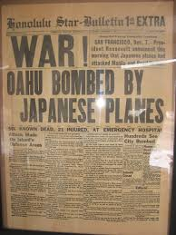 pearlharborpaper jpg collections world war ii history center honolulu star bulletin pearl harbor attack newspaper