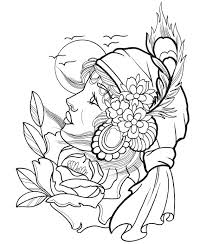 Small Picture Tattoo coloring pages printable ColoringStar