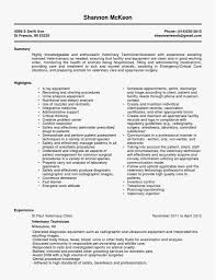 Surgical Tech Resume Sample New Template 29 Unique Surgical Tech