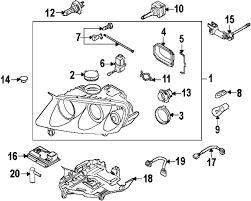 com acirc reg volkswagen mounting partnumber lc 2006 volkswagen touareg base v6 3 2 liter gas headlamp components