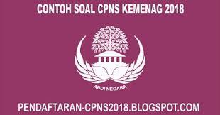 Nilai tempat angka 6 pada bilangan 268 adalah …. 1000 Contoh Soal Cpns Cat Skd Skb Kementerian Agama 2018 Lengkap Pendaftaran Cpns 2019