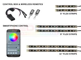 smartphone controlled lighting. 6pc Advanced Million Color SMD LED Motorcycle Lighting Kit With Smartphone Control Controlled