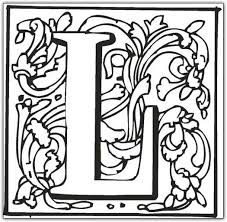 Small Picture Letter L Coloring Pages GetColoringPagescom