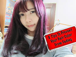 prevent hair color from fading tips purple hair dye without bleach