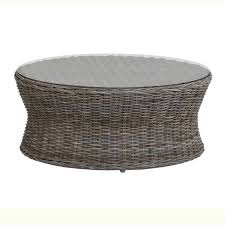 round wicker ottoman coffee table for fabulous magnificent round wicker coffee table best ideas about rattan