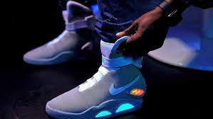 nike air mags. the nike air mags are future of sneaker technology. usatsi