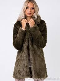 women s jackets jumpers kirby faux fur coat new style khaki fluffy jackets 1zx434