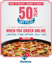 news domino s half off pizzas all this week