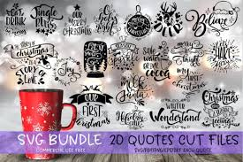 Free icons of quote in various ui design styles for web, mobile, and graphic design projects. Christmas Quotes Bundle Graphic By Svg Story Creative Fabrica