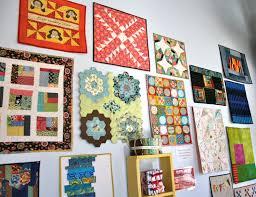 Atlanta Modern Quilt Guild display. | Whipstitch & Category: Blog, Quilts ... Adamdwight.com