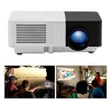 tv projector. portable mini projector hd home cinema tv movie xbox game hdmi usb kid\u0027s gift uk tv
