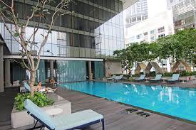 infinity pool singapore hotel. Oasia Hotel Downtown, Singapore \u2013 Review Infinity Pool